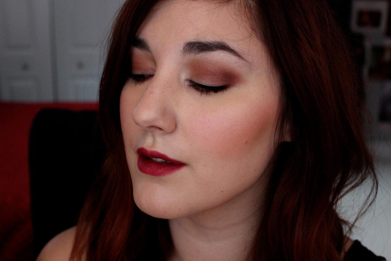 Burgundy Smokey Eye – Amber Rae Beauty