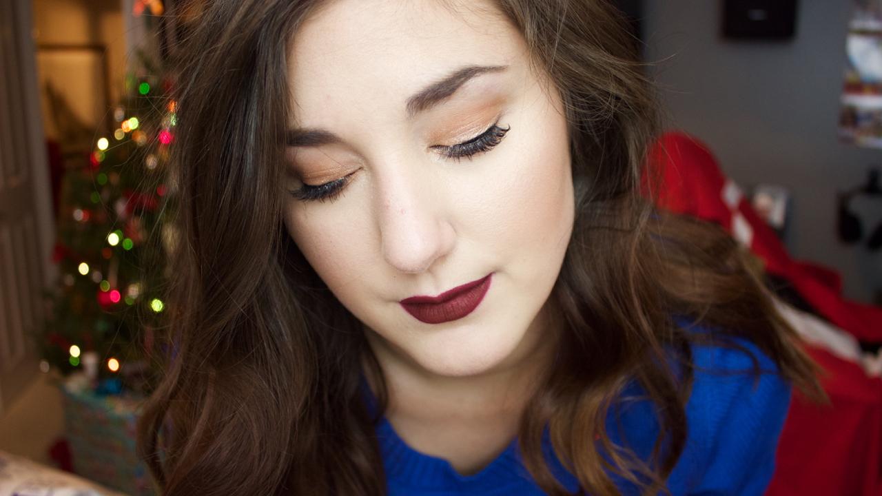 Festive Makeup Featuring Havana Nights Amber Rae Beauty